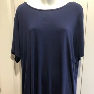 plus size old navy blue shirt